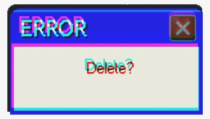Glitch Error Text Transparent Transparent Png 1024x1024 Free Download On Nicepng
