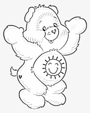 Free Printable Care Bear Coloring Pages For Kids | 379x300