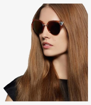 55a3e6912248 Brunette Png File - Model With Sunglasses Png