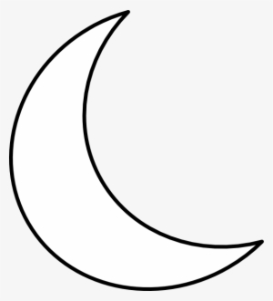 Crescent Shape Clip Art At Clker White Crescent Moon Transparent Transparent Png 540x597 Free Download On Nicepng