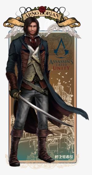 Arno Dorian By Hama De Assassin S Creed Unity Transparent Png