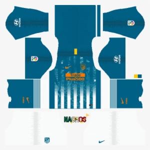 1c9033dc7e0 Atletico Madrid Third 2018/19 Kits Dream League Soccer - Liverpool Kit  Dream League Soccer