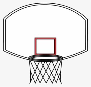 Basketball Hoop Backboard Clipart Backboard Transparent
