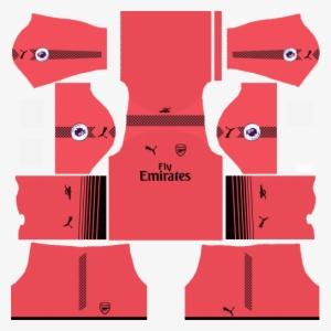 5c3fb300fdd Arsenal Kits & Logo Url 2017, 2018 Dream League Soccer - Dream League  Soccer Kits