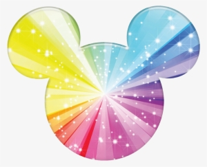 Mickey Mouse Rainbow - Mickey Mouse Ears Colorful