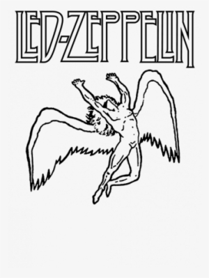 Zeppelin Drawing Mothership Graphic Freeuse - Logo Led Zeppelin ...
