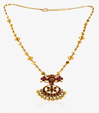 Vintage Ruby Flower Necklace New Long Gold Necklace Designs Transparent Png 1000x1000 Free Download On Nicepng
