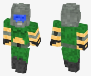 Doomguy Minecraft Transparent Png 584x497 Free Download On