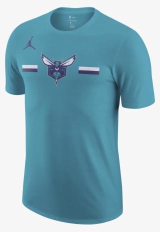 f8c755e875ee56 Air Jordan Charlotte Hornets Logo Dry Tee - Jordan 8 South Beach Shirt