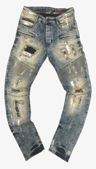 b00864d0a3 Pacific Denim - White Ripped Jeans Transparent Transparent PNG ...
