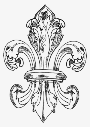 fleur de lys coloring pages - photo#19