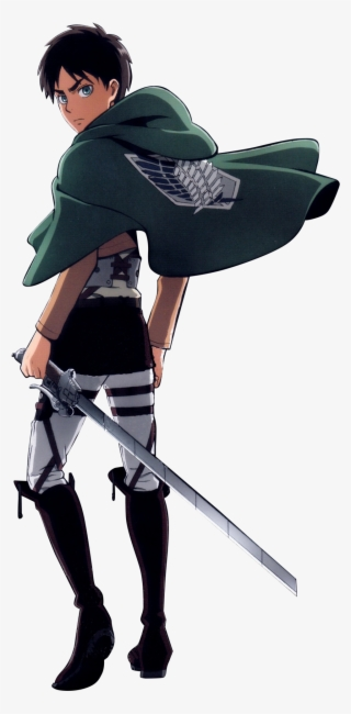 Eren Yeager Attack On Titan Character Eren Transparent Png 1024x2008 Free Download On Nicepng
