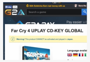 activation key uplay far cry 4