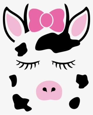 Cute Animal Face Vinyl Decals Pig With Bandana Svg Transparent