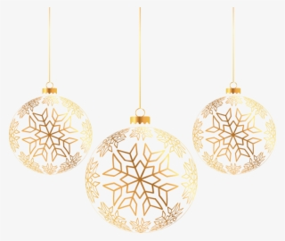 Gold Christmas Ornaments Png.Hanging Christmas Ornaments Png Download Transparent