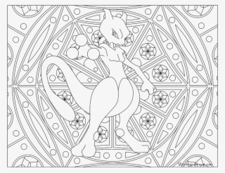 Best 15 Mewtwo Pokemon Card Coloring Pages Images Free Drawing Transparent Png 1024x791 Free Download On Nicepng