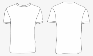 White T Shirt Template Bosquejo De Camiseta Transparent Png 2744x2056 Free Download On Nicepng