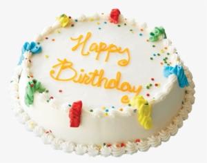 Happy Birthday Round Cake
