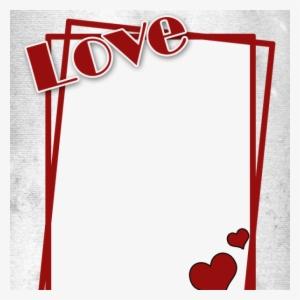 Love Heart Frames PNG & Download Transparent Love Heart