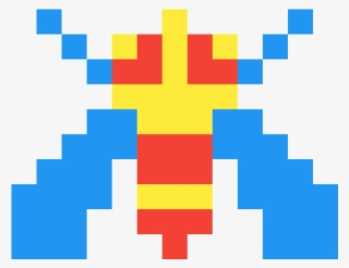Galaga Enemies Transparent Pixel Art Monsta X Transparent Png 1200x1200 Free Download On Nicepng