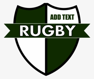 Rugby Shield White Green Banner Emblem Transparent Png 700x700 Free Download On Nicepng
