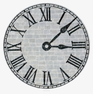 Clock Icon Roman Numeral Clock Face Png Transparent Png
