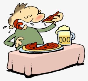 Boy Eating Pizza Clip Art - Boy Eating Pizza Image | Clip art, Kids clipart,  Art images
