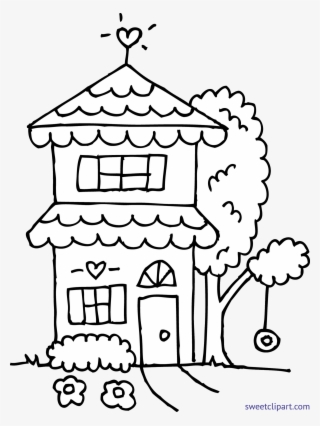 Graphic Black And White Library Coloring Page Free