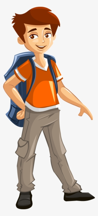 Image For Free Smart Boy Vector Character Smart Boy ...