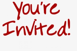 You Are Invited Png Download Transparent You Are Invited Png Images For Free Nicepng