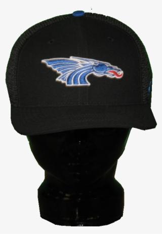 6fbd99c853c Black Nike Mesh Flex Hat With Power Dragon On Front - Beanie