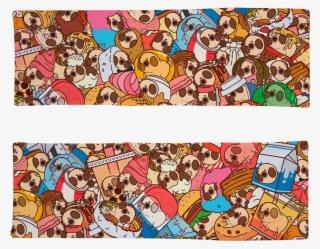 Puglie Wuglie Pile Body Pillow Case - Puglie Pug Wallpaper Iphone