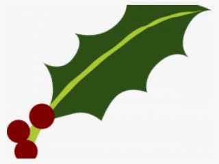 Holley Clipart Holly Leaves Holly Leaf And Berries Transparent Png 640x480 Free Download On Nicepng
