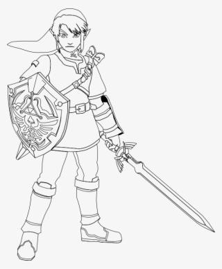 Zelda Clipart Original Link Legend Legend Of Zelda Four Swords Links Transparent Png 791x598 Free Download On Nicepng